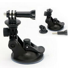 Car Suction Cup Mount Bracket + Tripod Adapter for GoPro Hero 1 2 3+ 4 5 Camera