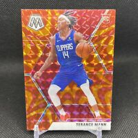 2019-20 Panini Mosaic Terance Mann ORANGE Reactive PRIZM Rookie Card #246🔥PWE