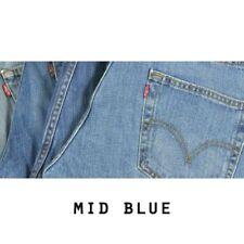 Vaqueros de hombre rectos Levi's 505 color principal azul