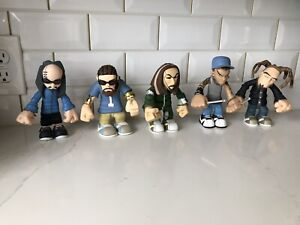 Lot Of Five 2002 KORN The Stronghold Group Vinyl Action Figure Toy Doll