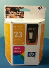 HP 23 Tri-Color Ink Cartridge C1823d Genuine New Old Stock Sealed 2004