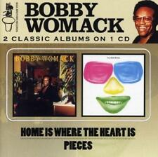 BOBBY WOMACK Home Is Where The Heart Is /Pieces NEW & SEALED 70s SOUL CD