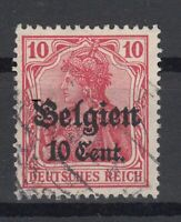 B2570/ BELGIUM GERMAN OCC – MI # 14 c I USED SIGNED FREIER