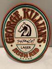 1989 George Killian's Signature Irish Red Lager Beer Sign Advertising Mancave