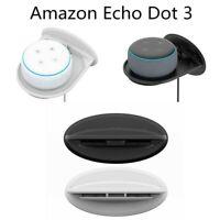 Wall Mount Socket Bracket Holder Stand for Amazon Echo Dot 3rd Gen Generation