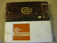 """New listing Colt Saa Single Action Army Box Insert & Instruction Manual for 44 Spec 7 1/2""""B"""