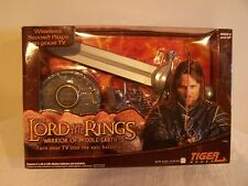 Tiger The Lord Of The Rings - Warrior Of Middle-Earth Wireless Sword Game NEW