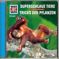 WAS IST WAS - FOLGE 61: SUPERSCHLAUE TIERE/TRICKS DER PFLANZEN   CD NEW