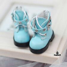 Yosd Shoes 1/6 BJD Shoes Dollfie DREAM Lolita Blue Boots Luts Dollmore AOD DOD