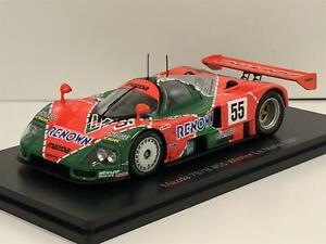 Mazda 787B No55 Winner Le Man 1991 Gachot/Hebert/Veidler 1:43 Spark