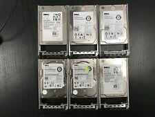 "Lot 6 6DFD8 Dell 146GB 6G 15K 2.5"" SAS 06DFD8 HDD Hard Drive X162K 61XPF"