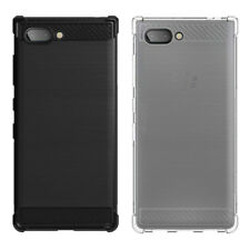 For BlackBerry KEY2 Soft TPU Silicone Gel Case Air Cursion Clear Skin Cover