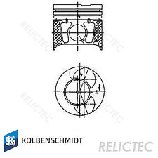 Piston With Rings Peugeot Citroen Ford Mazda:206,XSARA,207,FIESTA V 5 1145917