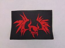 Metallica Embroidered patch bat horned skull USA SELLER FAST DELIVERY
