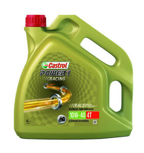 Power 1 racing 4-stroke sae 10w40 fully synthetic 4 liter - Castrol