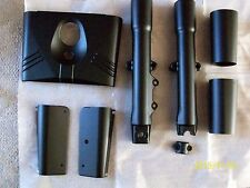 Harley Davidson Fat boy front fork sliders/legs/covers-2000-2006-DENIM BLACK PCT