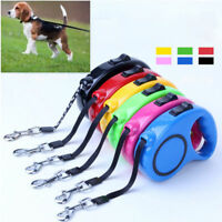 Pet Dog Puppy Automatic Nylon Leashes Retractable Traction Lead Walk Train Rope