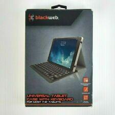 Blackweb Universal 7/8 Inch Folio Keyboard Tablet Case (BWA18TA014)