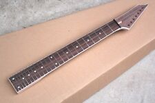 unfinished 24 frets rosewood fretsboard 7 strings electric guitar neck