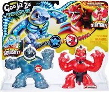 Heroes of Goo JIT Zu Series 4 Dino X-ray Thrash VS Verapz- Stone Age Rampage