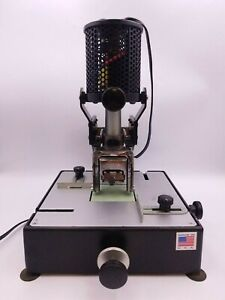Lassco Wizer W-100 Number-Rite Sequential Numbering Machine Ink Stamp Numerical