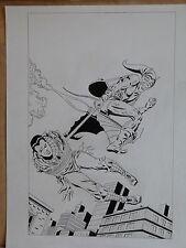 AMAZING SPIDER-MAN # 39 - RE CREATION OF JOHN ROMITA'S ORIGINAL COVER ARTWORK