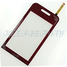 NEW Touch Screen Digitizer Lens For Samsung TOCCO LITE S5230 GT-S5230 Red