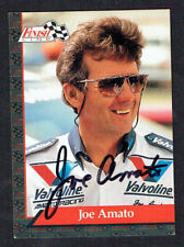 Joe Amato #1 signed autograph auto 1993 Finish Line NHRA Trading Card