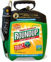 Scotts Miracle-Gro fast action weedkiller pump 'N go ready to use spray, 5 L