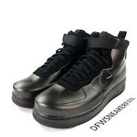 Nike Air Force 1 Men's Size 8.5 Foamposite Cup Triple Black Shoes AH6771-001 New