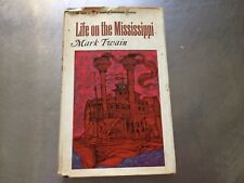 MARK TWAIN hardcover LIFE ON THE MISSISSIPPI 1965 harper perennial classic#6032B