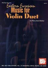Harbar Mary Ann dell' Est europeo MUSICA PER VIOLINO DUETTO LIBRO / CD