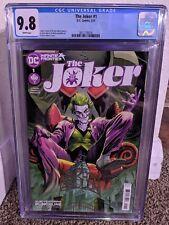 The Joker #1 CGC 9.8