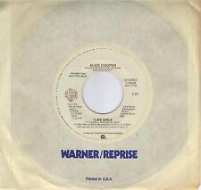 ALICE COOPER  I Like Girls  rare promo 45 from 1982