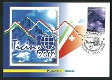 Anno Internazionale delle Montagne Cartolina Filatelica SPECIALE Poste Italiane