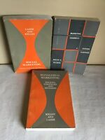 Vintage Mixed Lot Of 3 Paperback 1970s Marketing Instructional Books