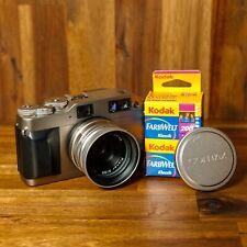 "Contax G1 ""Green Label"" analoge Messsucher-Kamera | Carl Zeiss Planar T* 2/35mm"
