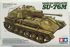 Tamiya 35348 ruso arma autopropulsada SU-76M 1/35 Modelo Kit Nuevo En Caja
