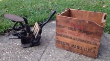 1965 CRAFTSMEN SUPREME PRINTING PRESS, 3x5, BOSTON, MA, WOOD CRATE, AS IS