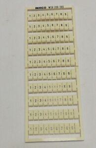 WAGO 209-565 Bezeichnungskarten 5 St.