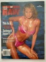 WWF Raw Magazine 1998 January Sunny This Is A REAL Swimsuit Issue!! #1 of 2 WWE