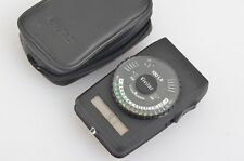 EXC+++ VIVITAR 130 LX DIGITAL INCIDENT LIGHT METER, CASE, EASY, ACCURATE