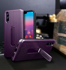 Huawei  P20 PRO  Rugged  Bumper Cover Case With Stand Purple   ISPORT™
