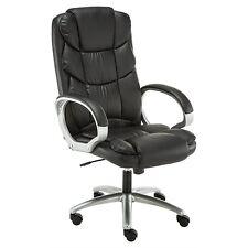 BTExpert Premium Ergonomic High Back Leather Executive Office Chair Computer Des