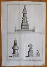 Picart Ceremony Thailand Pagoda Folio - 1732