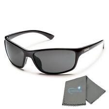 SunCloud Scene Matte Black Backpaint Sunglasses Polarized Brown Lens