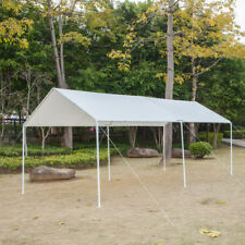 Caravan Canopy Tent Heavy Duty 10 x 20 Steel Carport Portable Car Shelter Garage