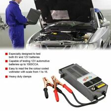 6V/12V Car Digital Battery Tester Load Charging System Tester Diagnostic Tool