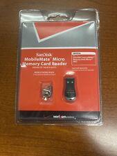SanDisk MobileMate Micro Memory Card Reader 619659063146 Universal