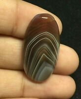 Amazing Botswana Agate Gemstone Cabochon High Quality Oval Shape 21.5 Cts UNE-5